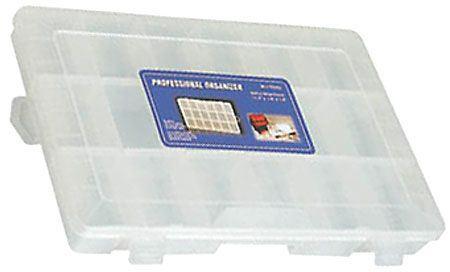 Krabička na součástky 275x190x44mm 18sekcí
