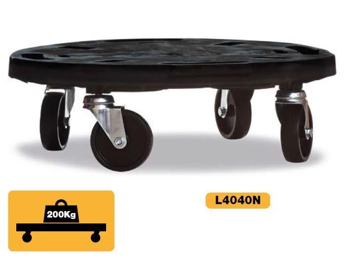 Přepravní vozík s kolečky - kulatý, ArtPlast L4040N