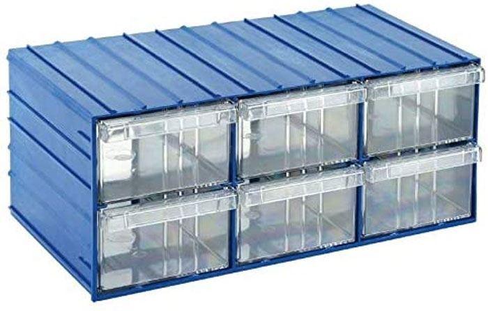 Krabičky na součástky stohovací KOD120-6 204x370x160mm