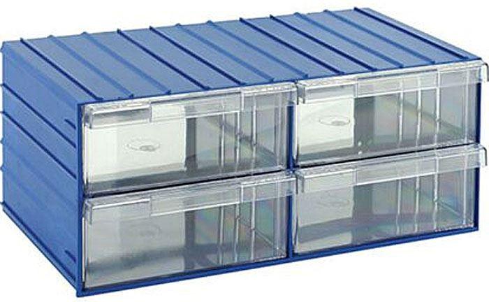 Krabičky na součástky stohovací KOD120-4 204x370x160mm