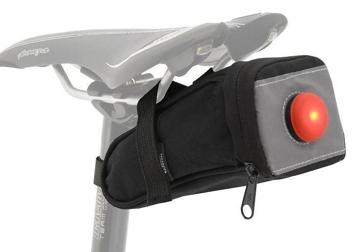 Compass Cyklotaška pod sedlo se zadním LED světlem