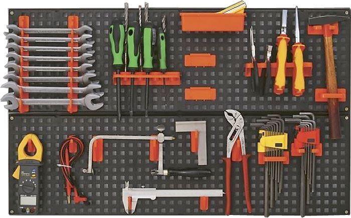 Držák na nářadí-panel plastový 790x470mm, TOOLBOARD NTB1