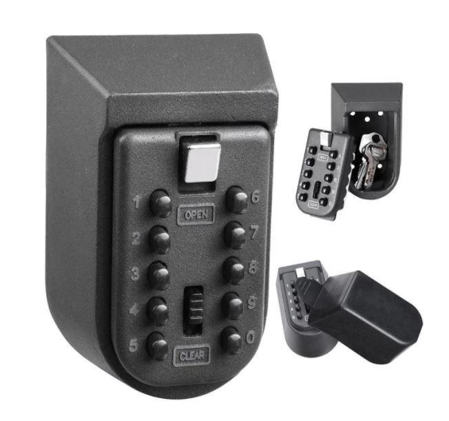 Bezpečnostní schránka / trezor na klíče s kódovým zámkem