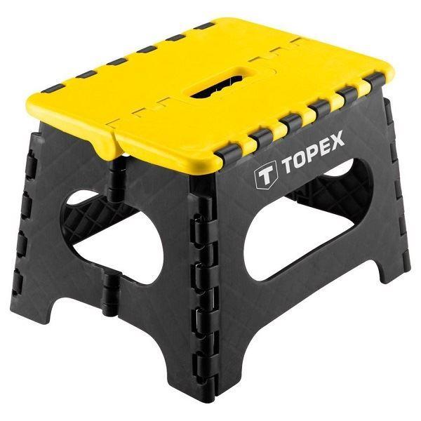 Stolička skládací , nosnost 150kg, TOPEX