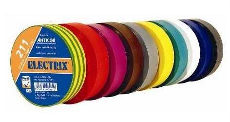 Izolační páska 0,13x15mmx10m ANTICOR - žluto-zelená