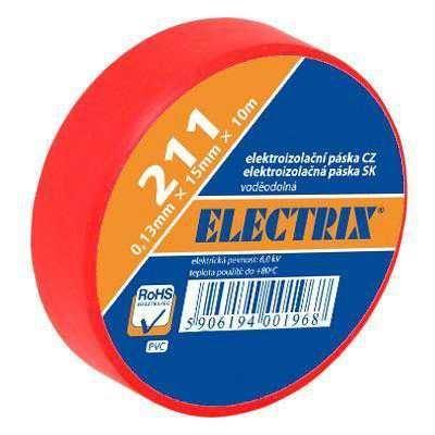 Izolační páska 0,13x15mmx10m ANTICOR - červená