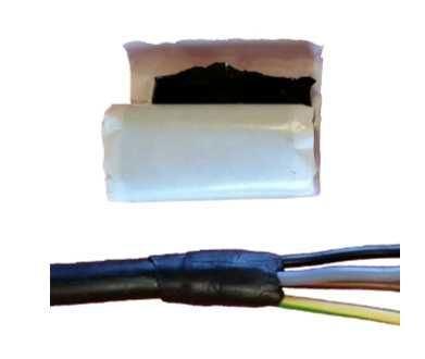 Výplňový tmel pro utěsňování a opravu kabelů