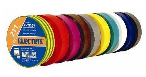 Izolační páska 0,13x25mmx10m ANTICOR - červená