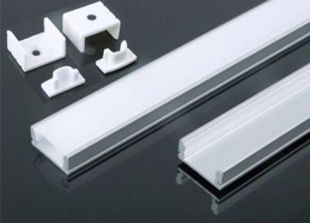 Hliníková lišta-profil MS-509 pro LED pásek 8-10mm, délka 2m