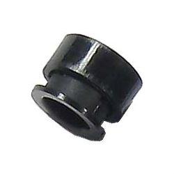 Objímka LED 5mm 2 dílná černý plast MOSTEN LD500