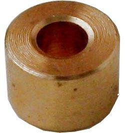 Distanční sloupek 8x5,4mm, otvor 3,2mm mosazný