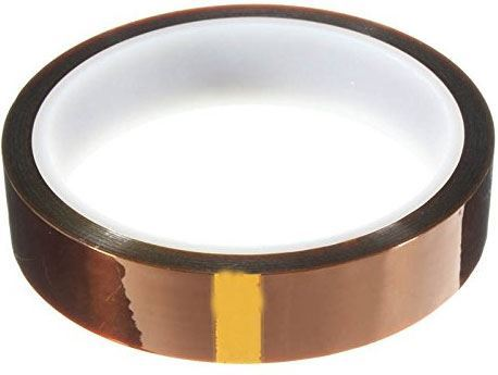 Izolační páska KAPTON, jantarová samolepící 20mm x 33m