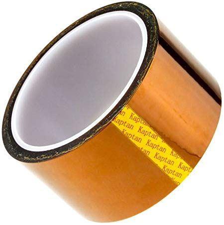 Izolační páska KAPTON, jantarová samolepící 50mm x 33m