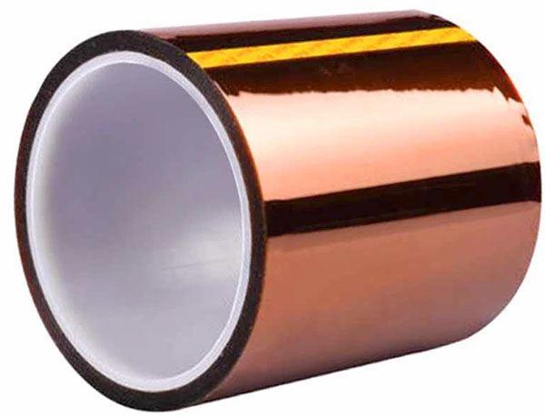 Izolační páska KAPTON, jantarová samolepící 100mm x 33m