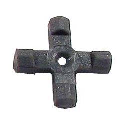Podložka pod tranzistor 10x10mm,v=3mm