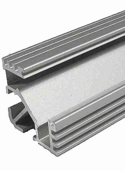 Alu profil TAN-C5 pro LED pásek 8-10mm anodizovaný - délka 1m