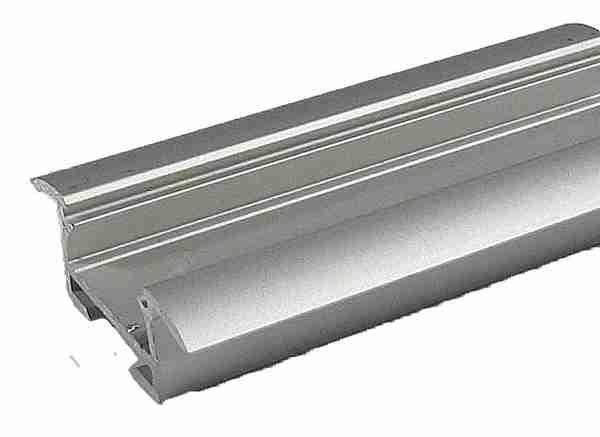 Alu profil TAKO pro LED pásek 8-10mm anodizovaný - délka 1m