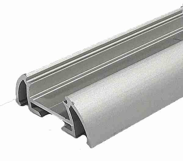 Alu profil TOST pro LED pásek 8-10mm anodizovaný - délka 1m