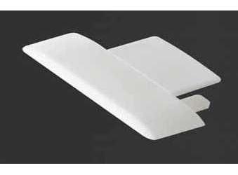 Záslepka PVC TAKO k Alu lištám pro LED pásky
