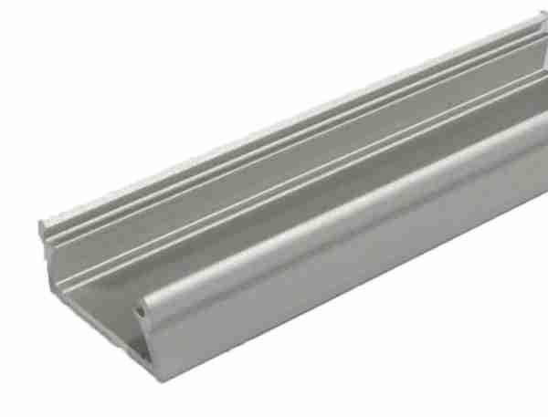 Alu profil TAMI pro LED pásek 8-10mm anodizovaný - délka 2m