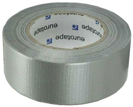 Lepící páska univerzální s textilií 48mmx50m stříbrná