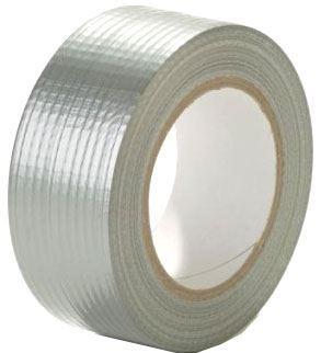 Lepící páska univerzální s textilií 48mm x 25m, stříbrná