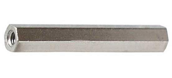 Distanční sloupek kovový DI5 M3x50mm 2xvnitřní závit