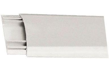 Přechodová lišta pro kabely bílá, š=60mm, v=13mm