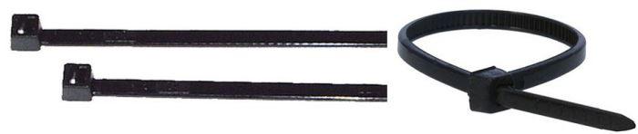 Stahovací páska 9x760mm černá