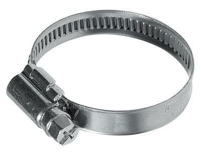 Stahovací páska kovová 40-60mm /hadicová spona/