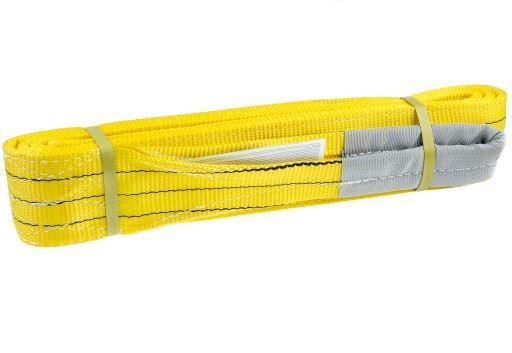 Zvedací pás nosnost 3000kg, délka 4m, žlutý