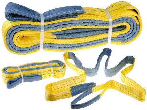 Zvedací pás nosnost 3000kg, délka 5m, žlutý