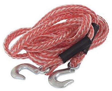 Tažné lano pružné 4m 3000kg s oky