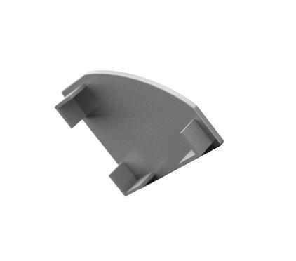 Záslepka PVC CORNER 1 k Alu lištám pro LED pásky