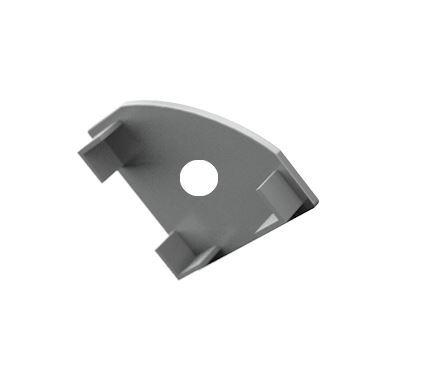 Záslepka s otvorem PVC CORNER 1 k Alu lištám pro LED pásky
