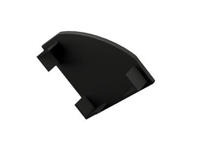 Záslepka PVC CORNER 1 BLACK k Alu lištám pro LED pásky