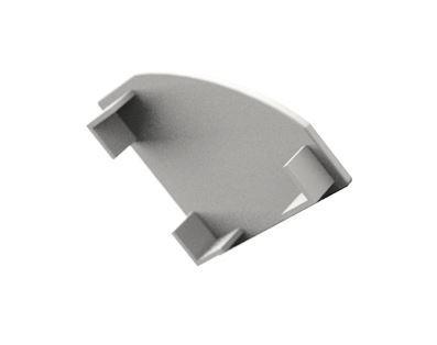 Záslepka PVC CORNER 1 WHITE  k Alu lištám pro LED pásky