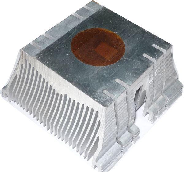 Chladič procesoru 80x70x35mm s Cu podložkou