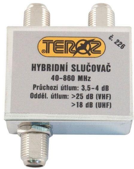 Slučovač 2x hybridní širokopásmový TEROZ 226X