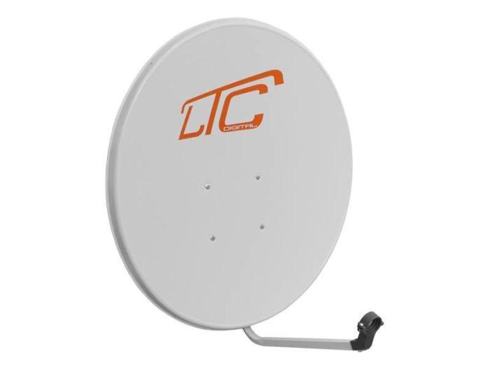 Satelitní parabola 80FE LTC tm. bílo/šedá
