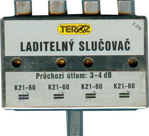 Laditelný slučovač TEROZ č.219K, IEC