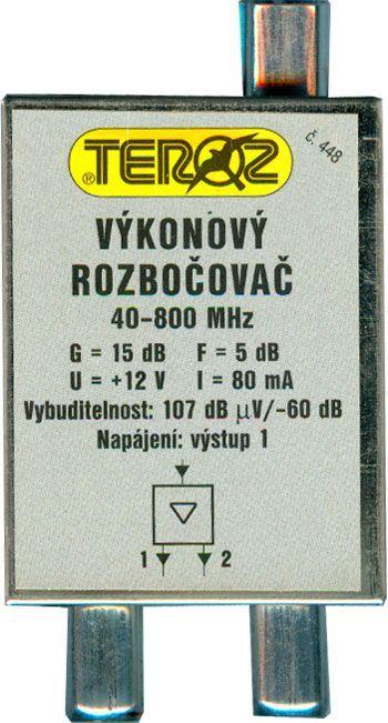Výkonový rozbočovač TEROZ č.448 s konektory IEC