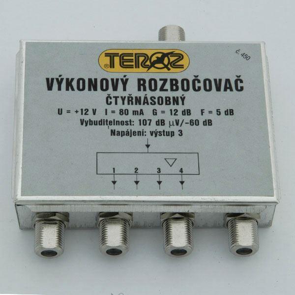 Výkonový rozbočovač TEROZ č.450 s konektory IEC