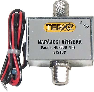 Napájecí výhybka s konektorem F         TEROZ 431X
