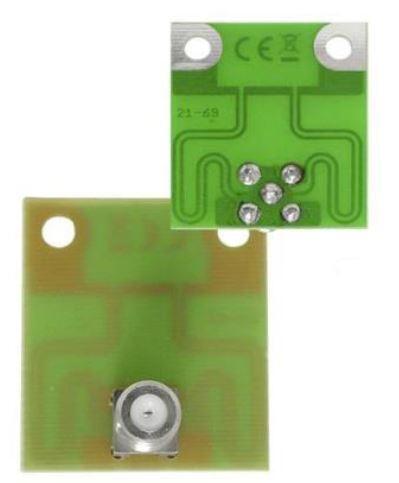 Symetrizační člen UHF, knanál 21- až 69 s F konektorem pro antény YAGI