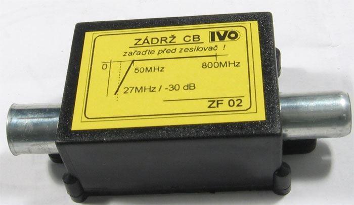 Zádrž CB 27MHz IVO ZF02