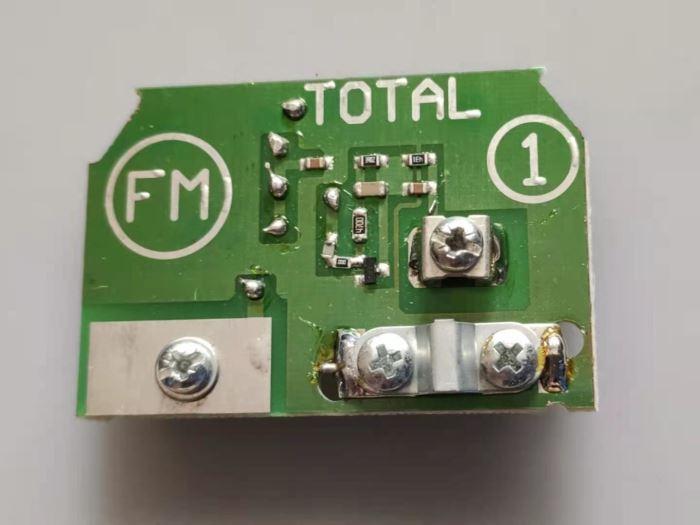 Anténní předzesilovač 300/75 LOG B  FM 87-108MHz/ 18dB
