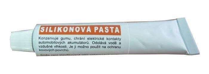 Pasta silikonová bezbarvá 25ml