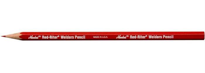 Tužka pro svářeče červená
