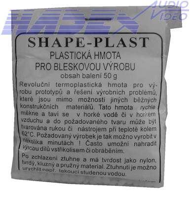 SHAPE-PLAST, plastická hmota pro bleskovou výrobu
